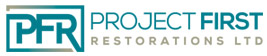 Project First Restorations Ltd.  Logo