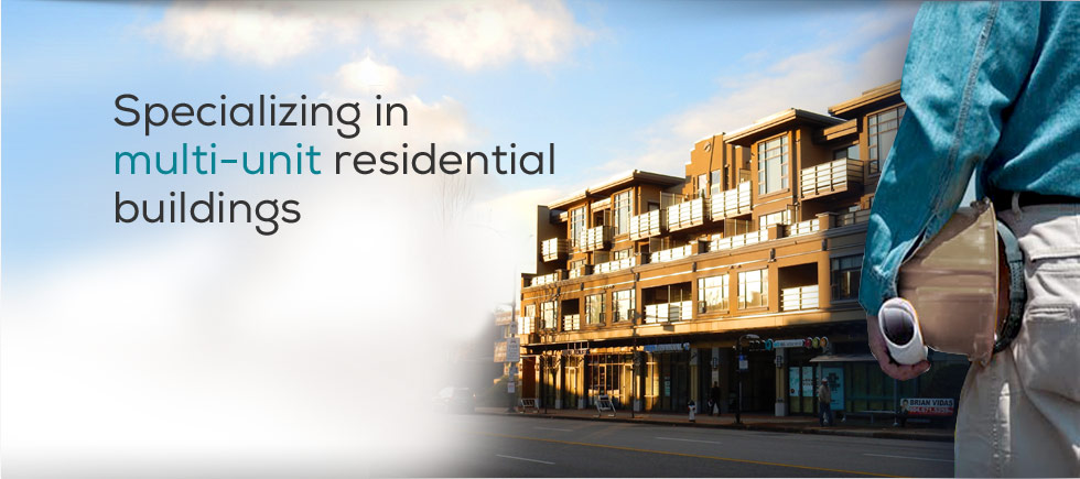 Specializing in multi-unit residential buildings